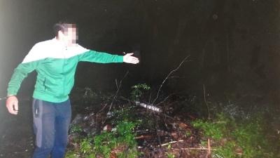 Борчанин задушил и спрятал в лесу тело сожителя бывшей жены