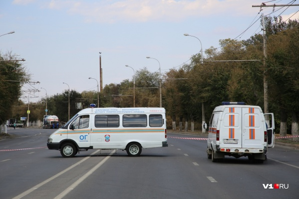 По проспекту Ленина пропускают лишь машины, задействованные в ликвидации ЧП