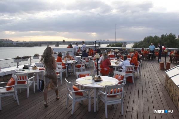 Кафе и рестораны могут уже прямо сейчас открыть летние веранды