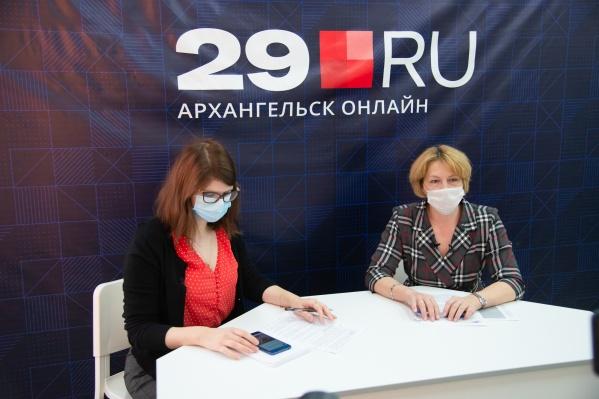 Татьяна Русинова расскажет о том, как Минздрав реагирует на самые проблемные вопросы, связанные с COVID-19 в регионе<br>