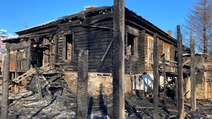 Поджигатели домов на улице Береговой в Тюмени останутся безнаказанными