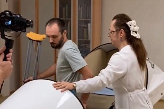 О методике гравитационной медицины расскажут по телевизору