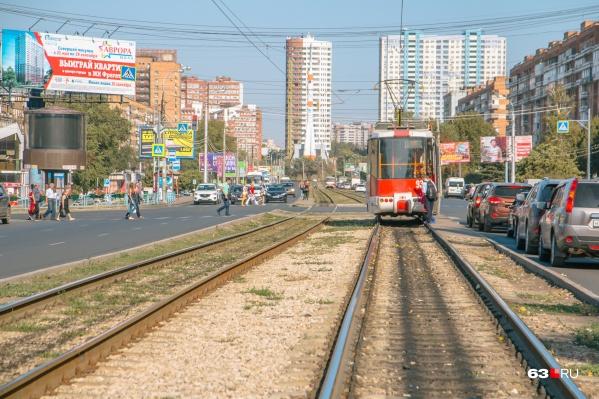 Трамваи будут ждать пассажиров на проспекте Ленина
