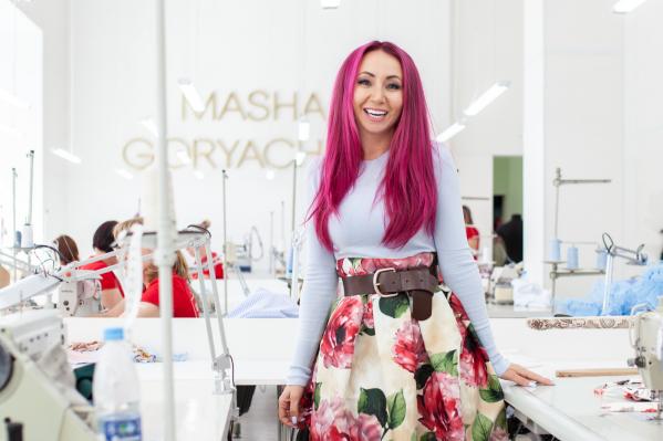 Маша Горячева: и дизайнер, и бренд