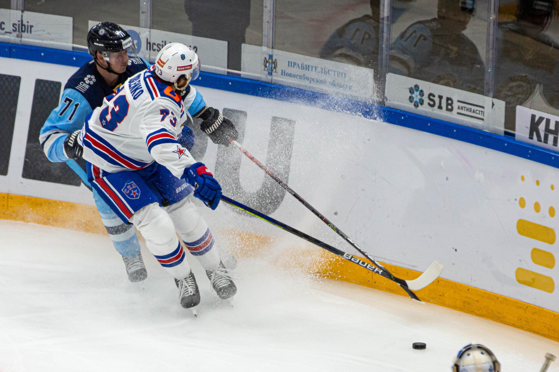 За игру хоккеисты «Сибири» заработали 7 удалений