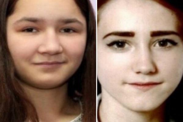 Поиски 15-летней Гульнары Фаюршиной (слева) и 14-летней Влады Артамоновой идут с 16 июня
