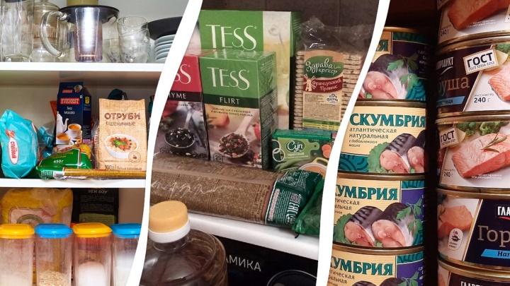 Скумбрия с чаем: рассматриваем запасы еды в холодильниках самарцев