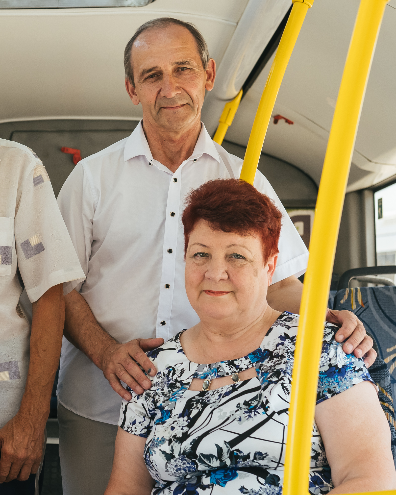 Антонина и Михаил работают вместе только пять лет, а в обычной жизни успели воспитать трех дочерей и 6 внуков