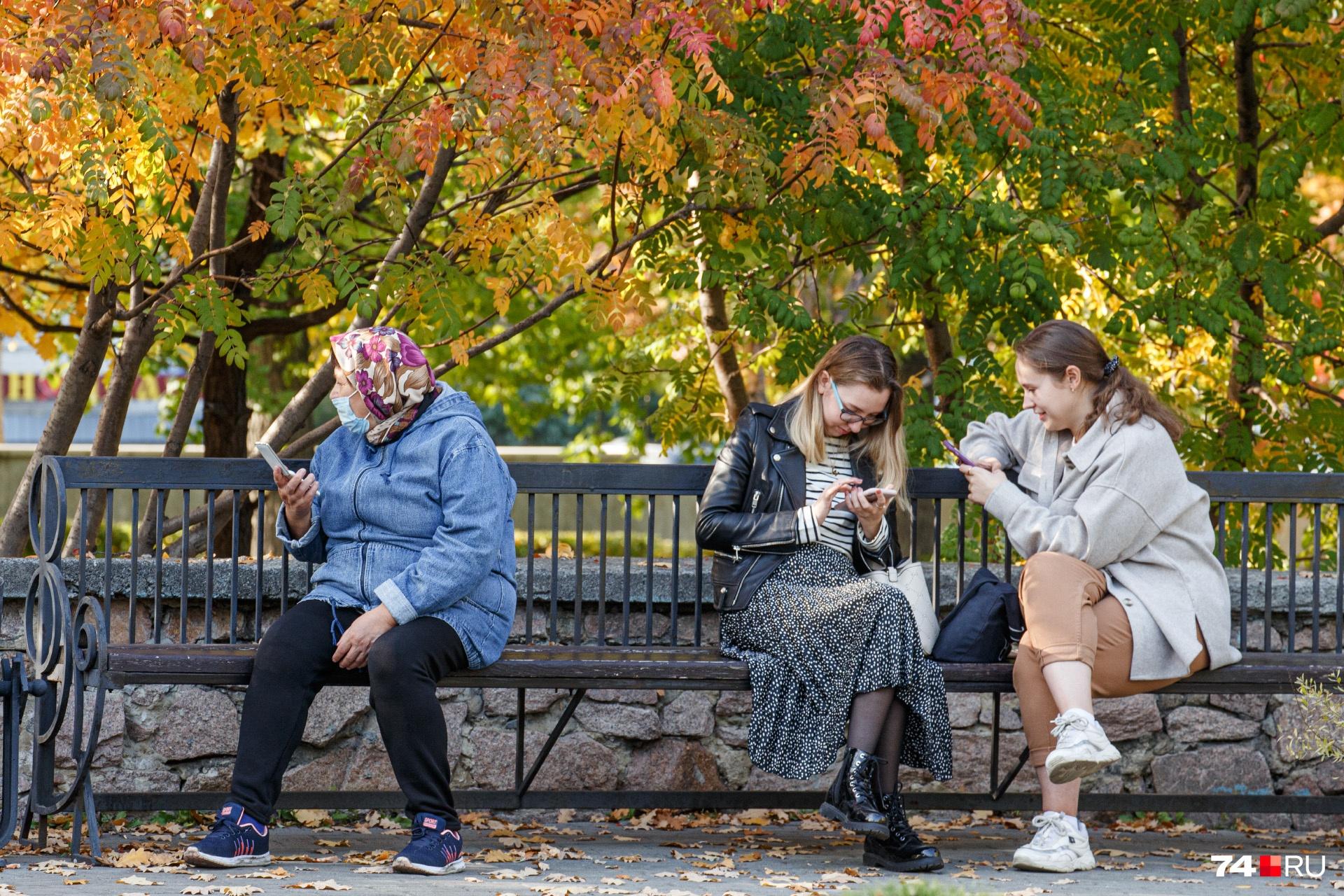 Осенью красивые фотозоны повсюду
