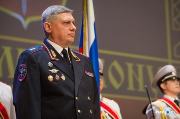 Юрий Стерликов стал руководителем ГУ МВД по Новосибирской области в феврале 2015 года