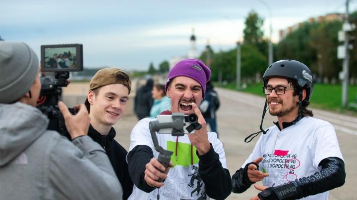 Экстремалы Поморья претендуют на звание лучшей команды Urban Battle Tele2
