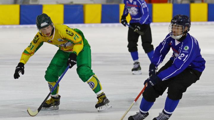 «Водник» обыграл «Строителя» в рамках Кубка России по хоккею с мячом