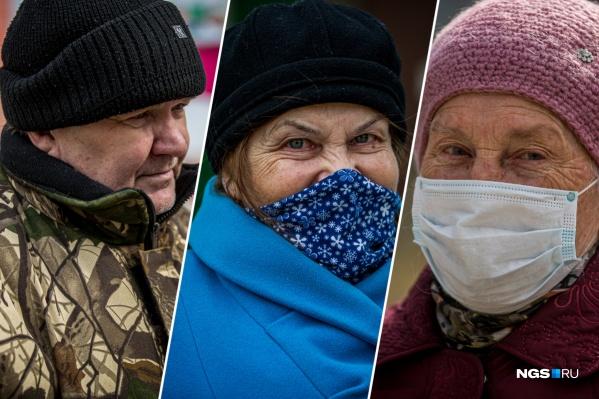 Пожилые люди — это группа риска во время пандемии, но на улицах их очень много