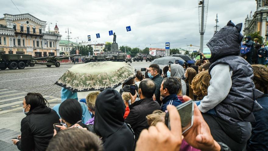 Погода в Екатеринбурге испортится в День Победы