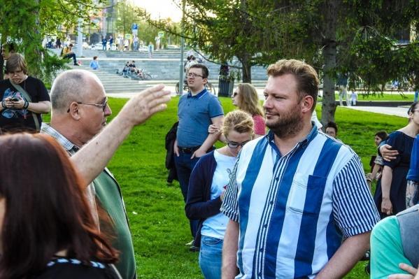 Ярослав Ширшиков — постоянный участник городских общественных выступлений