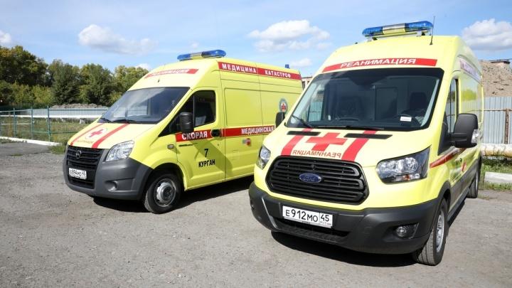 В Курганскую область направят новые машины скорой помощи