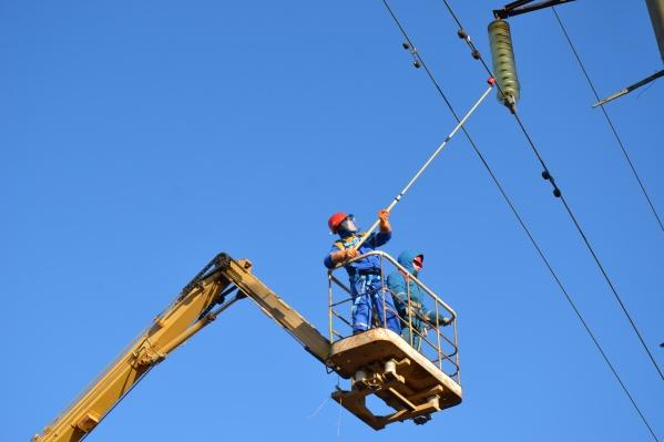 Работы по текущей эксплуатации сетей и капитальному ремонту идут строго по плану
