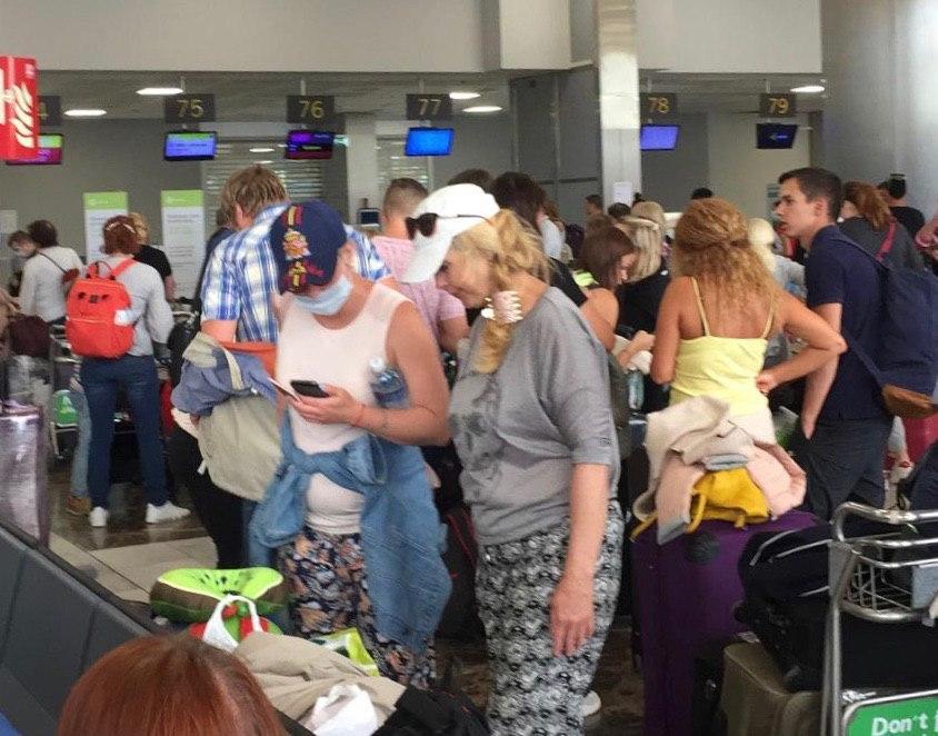 регистрация на рейс в аэропорту Канарских островов