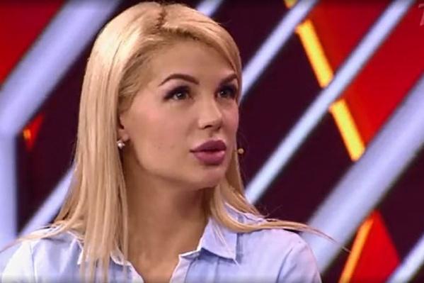 Екатерина в студии большую часть вела себя сдержанно и не показывала эмоций