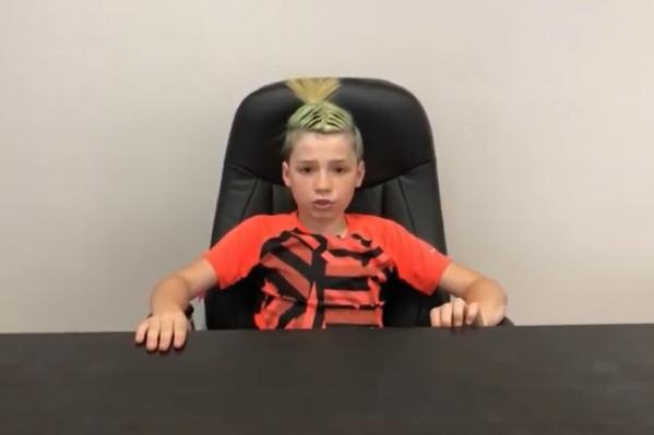 Мальчик недоволен решением суда