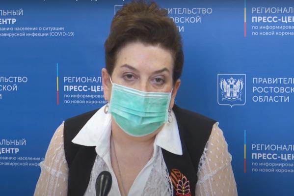 Быковская выступила на брифинге через три дня после выписки из больницы