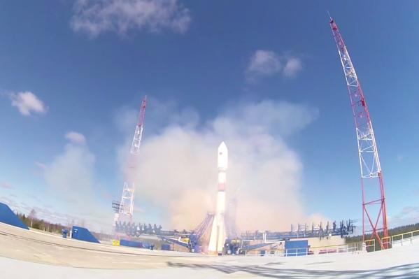 Ракета стартовала в 14:20