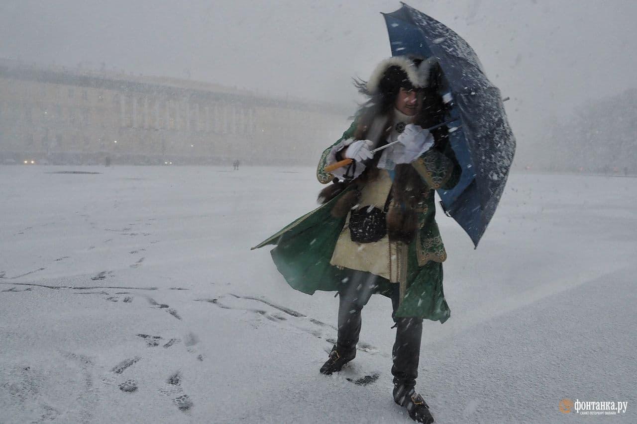 Петербург, 20 ноября. Михаил Огнев / «Фонтанка.ру»