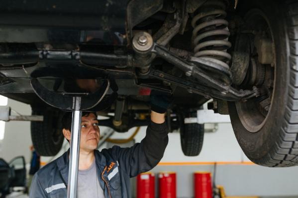 В сервисе действуют все виды ТО и ремонта