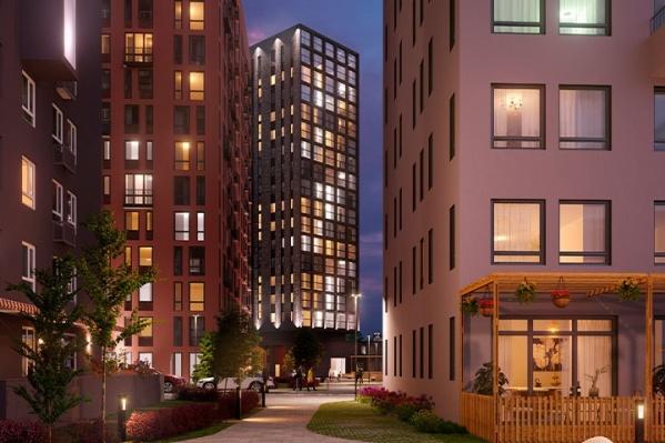 Будущие новоселы встретят 2021 год уже в домах этого комплекса