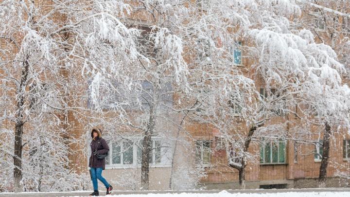 В Самарской области ожидают мокрый снег