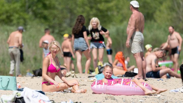 «Купаться запрещено!»: показываем необычную жизнь закрытого волгоградского пляжа