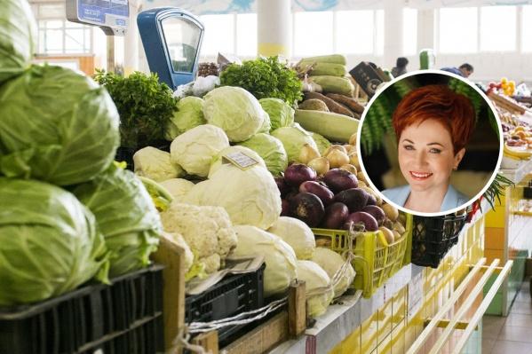 Диетолог из Ярославля Татьяна Селезнева рассказала, что в день можно съедать полкилограмма свежих овощей и фруктов
