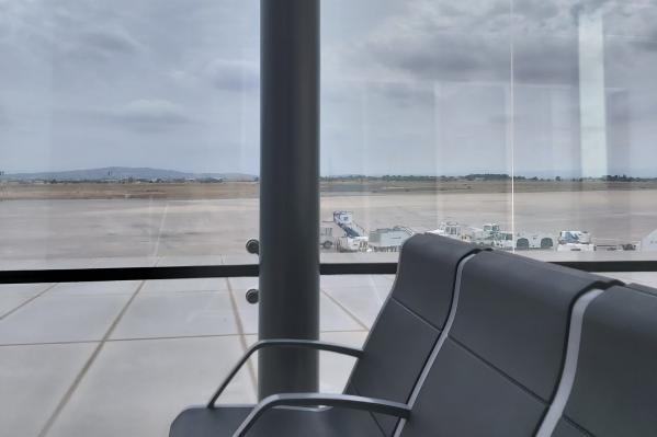 В аэропорту Мадрида, по словам Карины, было пустынно