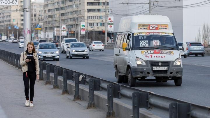 Волгоград и область ждут полного возвращения маршруток