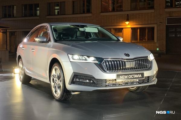 Так выглядит новая SKODA Octavia. Хотели бы себе такой автомобиль?