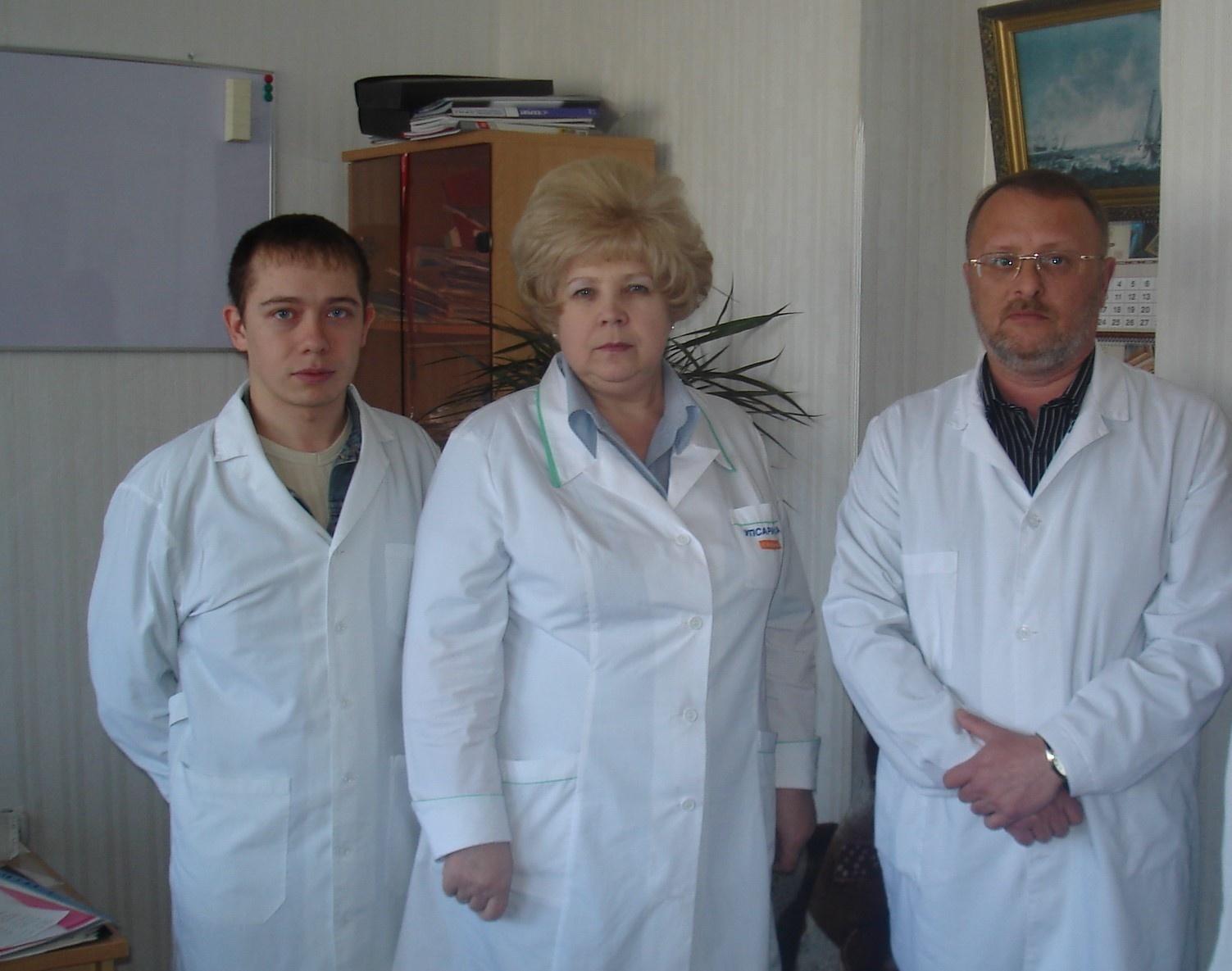 Юрий в студенчестве со своими главными учителями