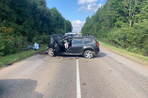 Спасти пассажирку этой машины не удалось