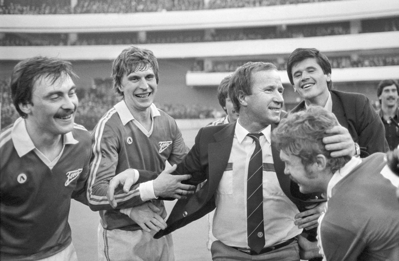 Чемпионство «Зенита», 1984 год