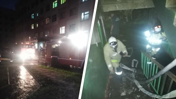 В Башкирии ночью из-за пожара в больнице эвакуировали 70 человек