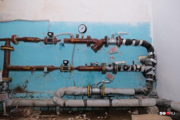 Такая установка в подвале должна самостоятельно регулировать отопление