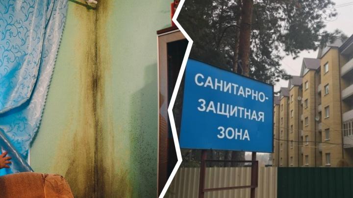 Жители плесневелой многоэтажки в Винзилях требуют с администрации поселка 52 миллиона рублей