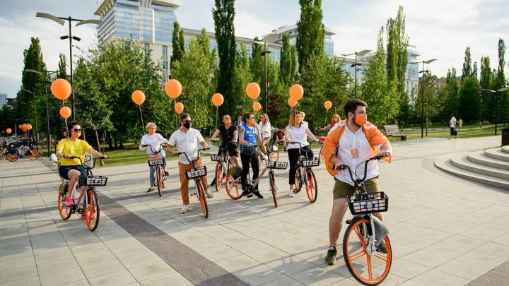В Уфе заработал сервис по прокату велосипедов