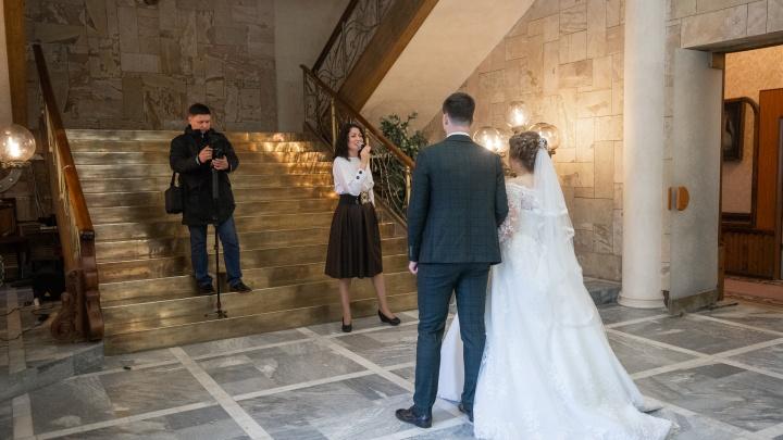 В красивую дату 20.02.2020 поженилось в три раза больше ростовчан, чем обычно
