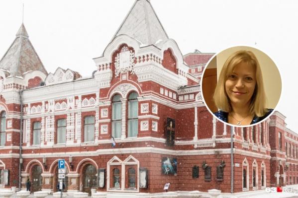 Спец из Петербурга пришла в драмтеатр зимой 2020 года