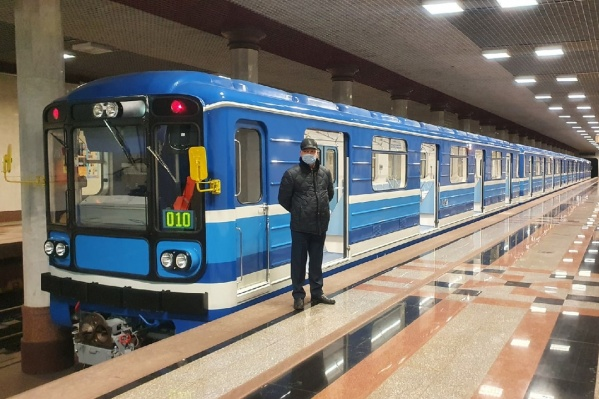 Эти вагоны работают в подземке с советских времен