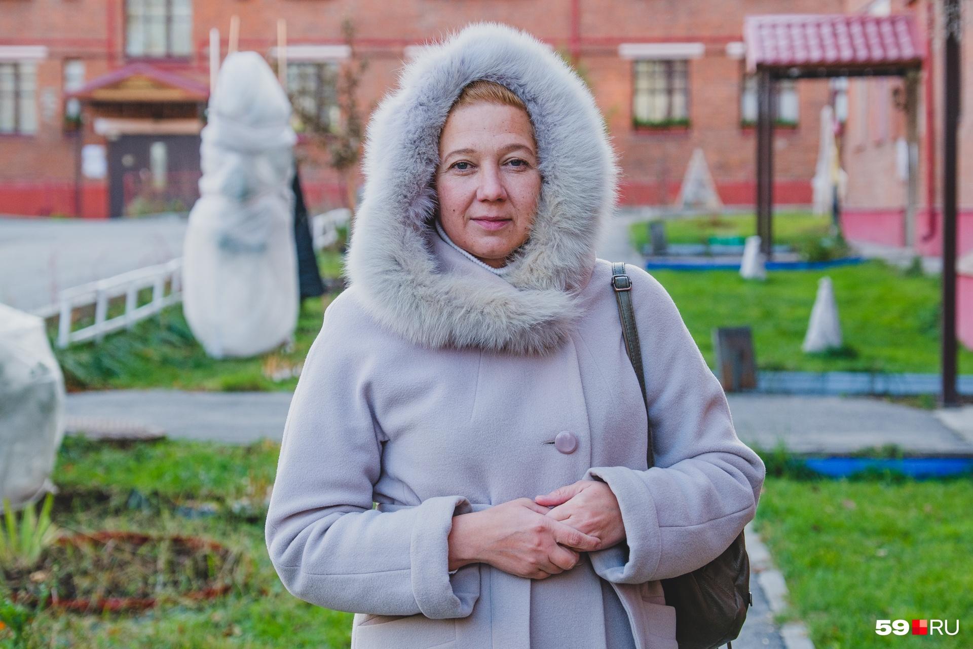 Анастасия Мальцева живет в одном из домов городка