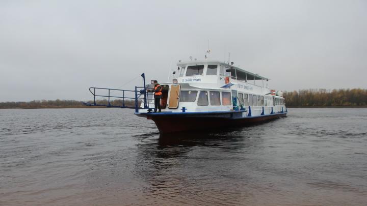 В Архангельске запустят теплоходы для перевозки жителей островов