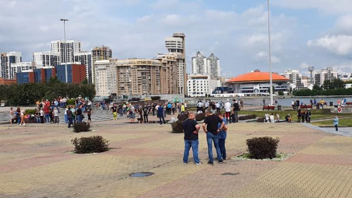 В Екатеринбурге горожане вышли на акцию в поддержку жителей Хабаровска