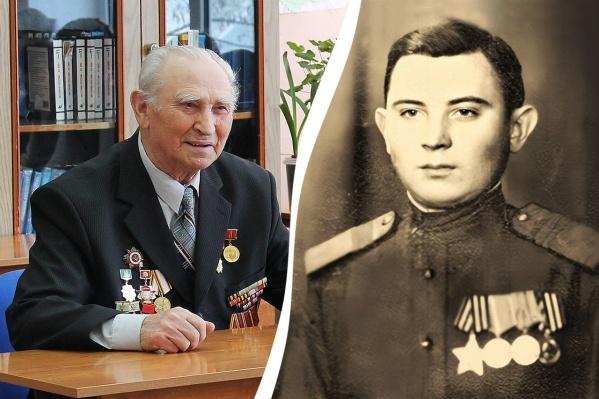 На фронт Василий Беспалов попал в 21 год