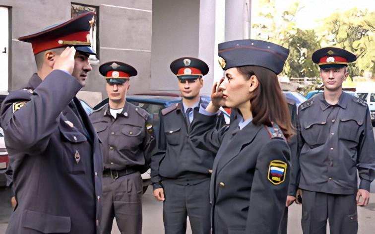 В милиции Оксана отслужила 10 лет